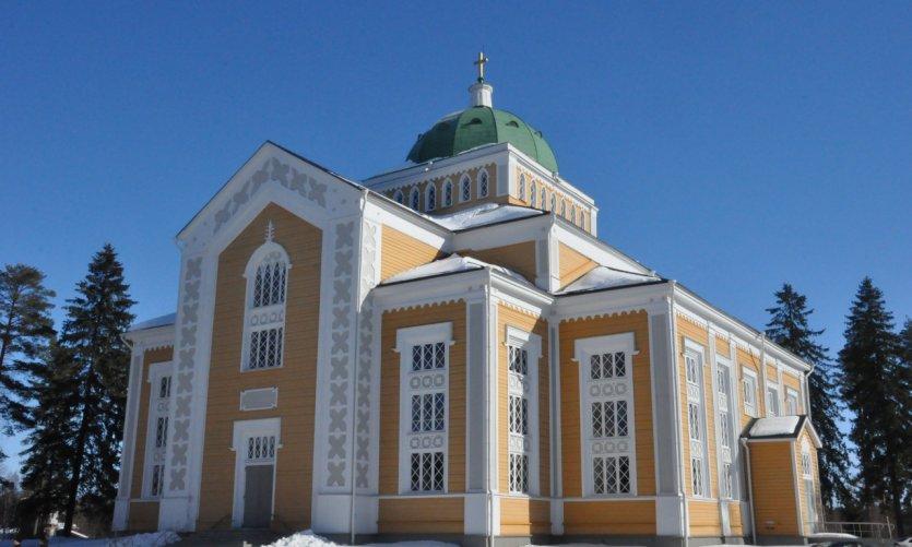 La plus grande église en bois du monde à Kerimäki