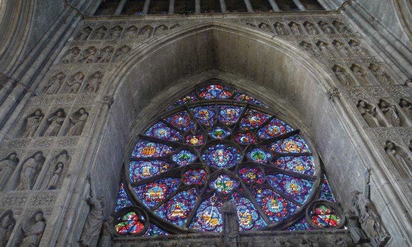 Intérieur de la cathédrale de Reims