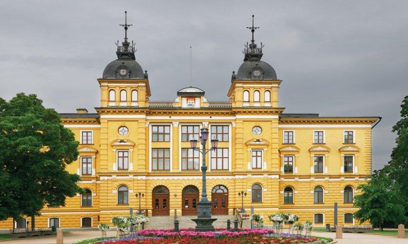 Hôtel de ville d'Oulu.