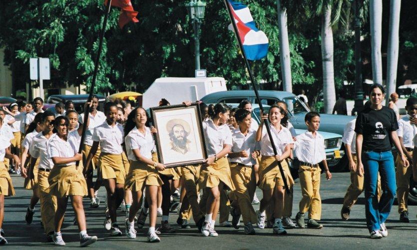 Parade pour Cienfuegos.