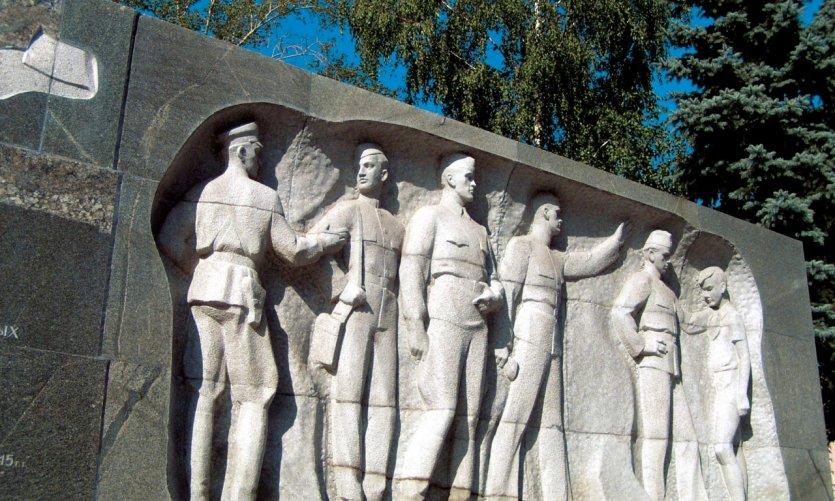 Arbatskaïa, monument à la gloire de l'Armée Rouge.