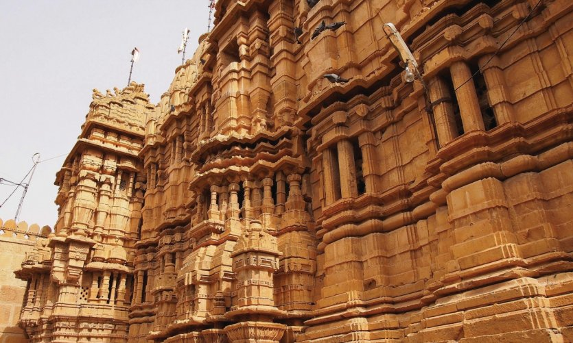 Temple jaïn de Jaisalmer.