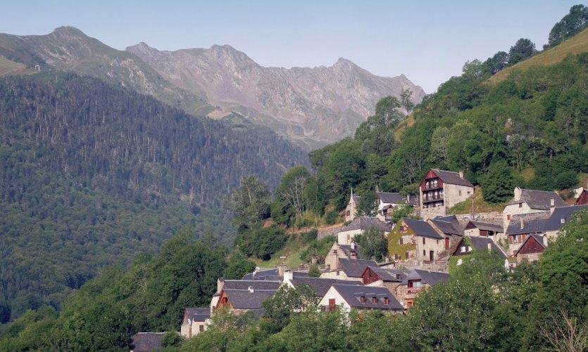 Vue générale de Saint-Lary-Soulan