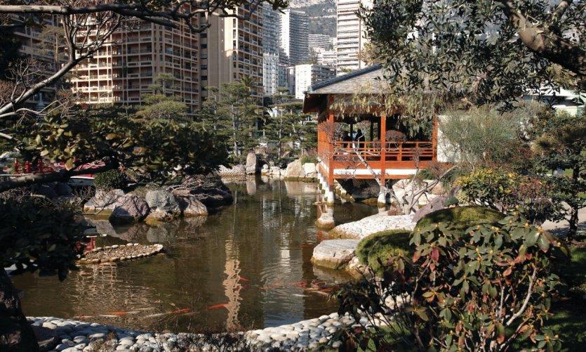 Monaco guide touristique petit fut for Jardin japonais monaco