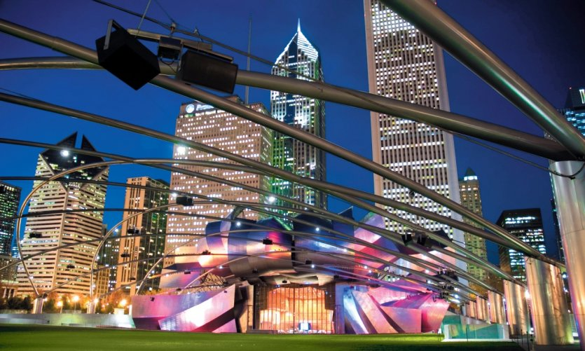 Chicago, Madison et Milwaukee, témoins de l'architecture des XXe et XXIe siècles