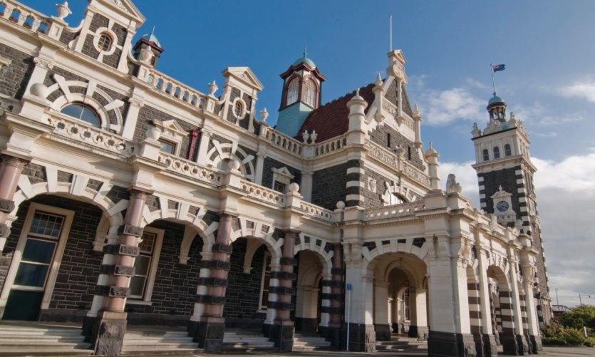 Gare de Dunedin.