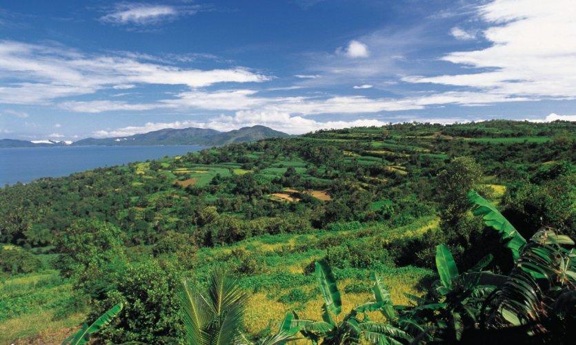 Paysage de la région de Nha Trang.
