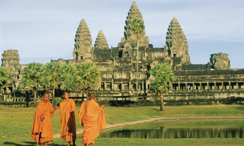 Temple of Angkor Wat.
