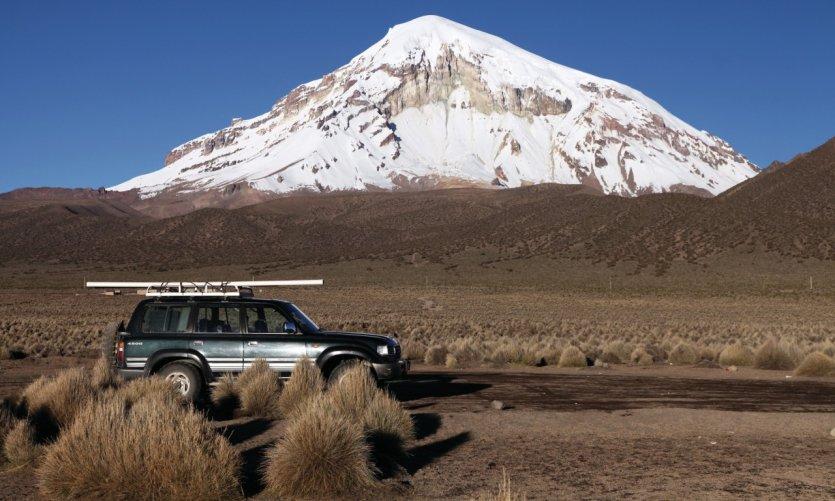 El volcán Sajama.
