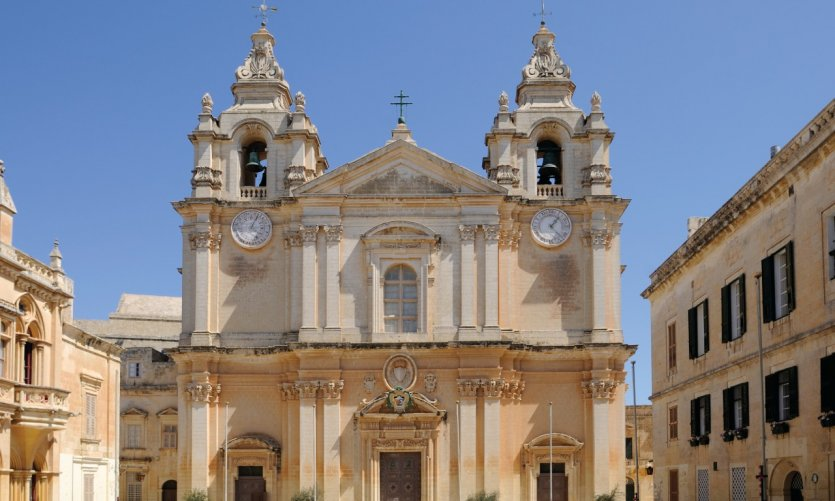 Saint Paul Cathedral in Mdina.