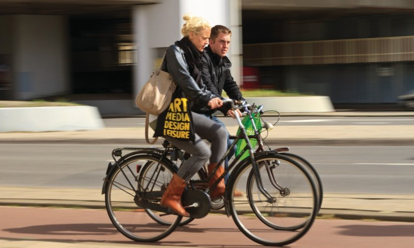 Le vélo, un mode de circulation très local.