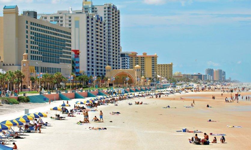 Playa de Daytona Beach.