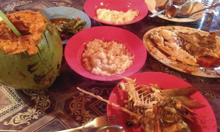 Restaurant du marché de nuit de Kota Kinabalu