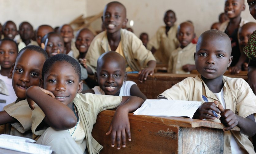 Écolier du Burundi.