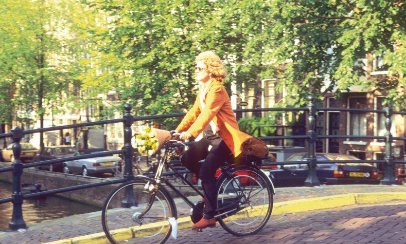 Amsterdam, la capitale du vélo.