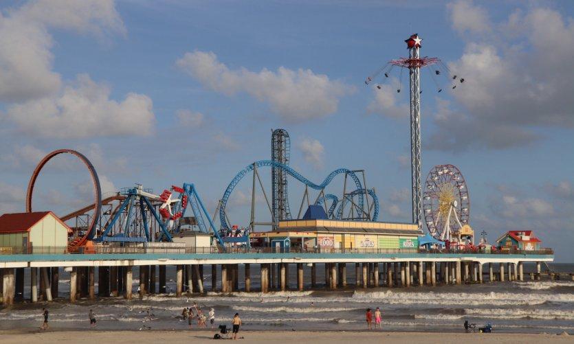 Galveston y su famoso muelle.