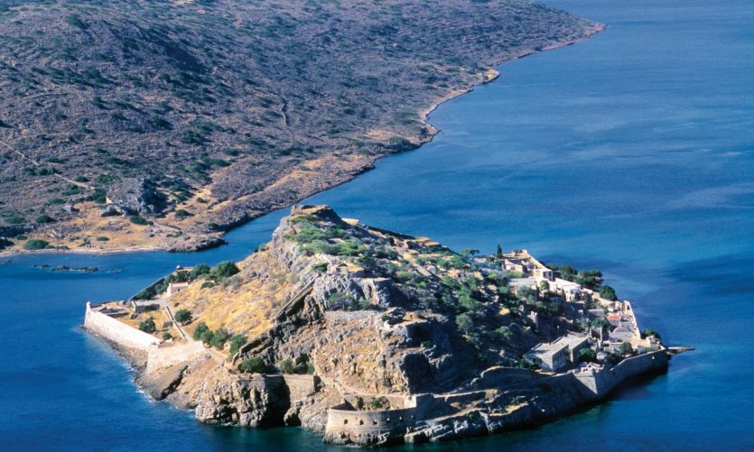 Isla de Spinalonga.