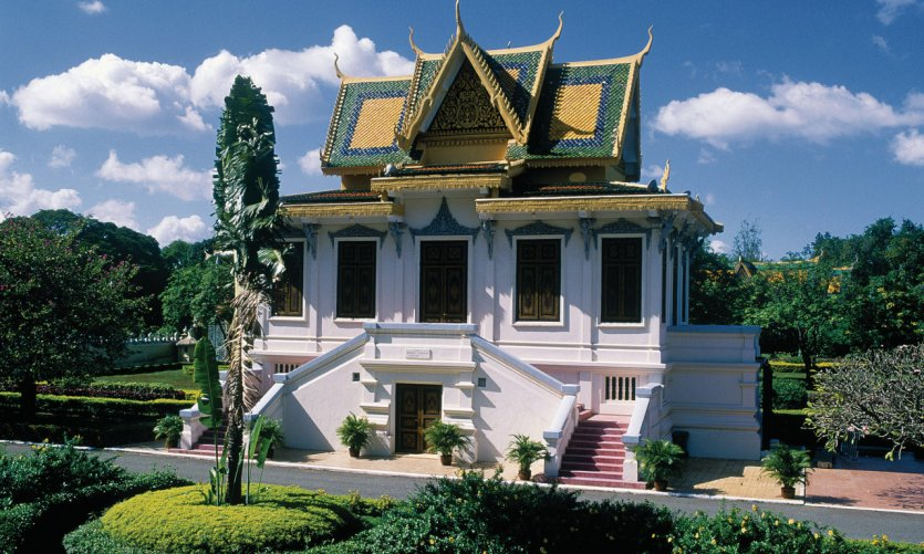 Royal Palace of Phnom Penh.