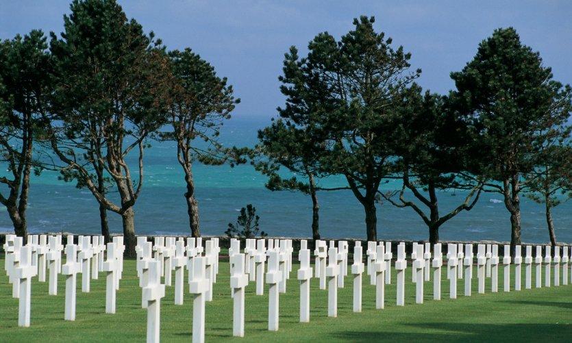 Cimetière américain de Normandie, Colleville-sur-Mer.