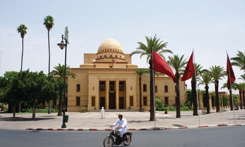 Le théâtre de Marrakech.