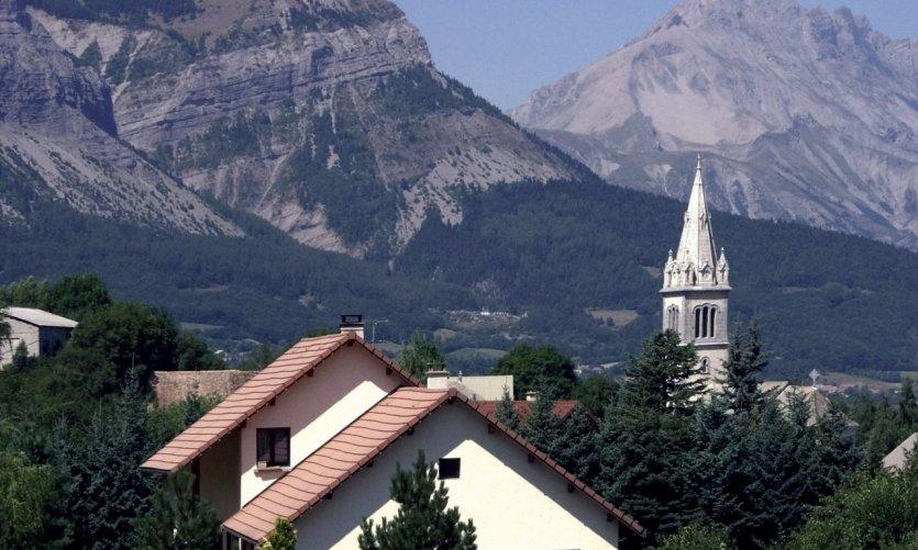 Village du Champsaur, dans les environs de Gap