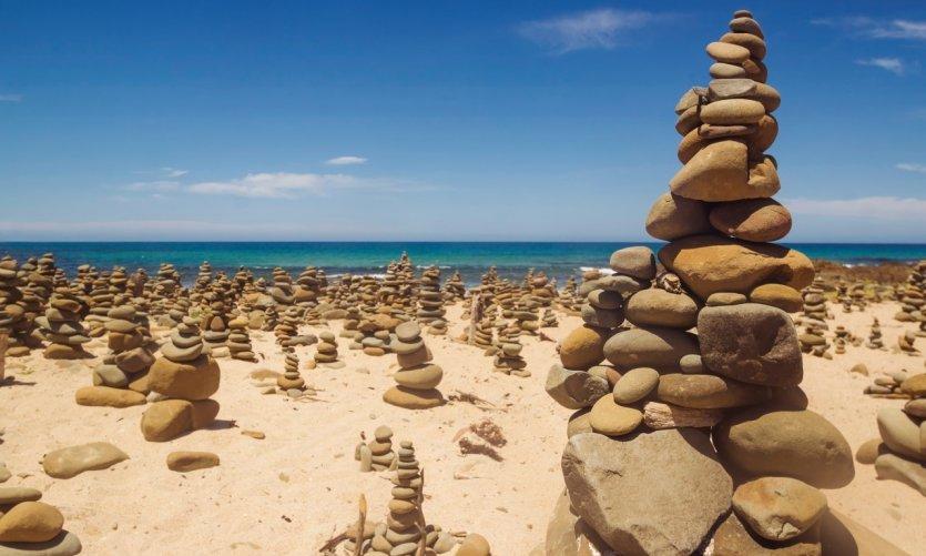 Formations rocheuses sur la Great Ocean Road.
