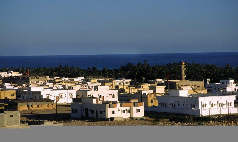 Taqah, village de pêcheurs près de Salalah.