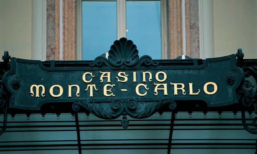 Entrée du casino de Monte-Carlo