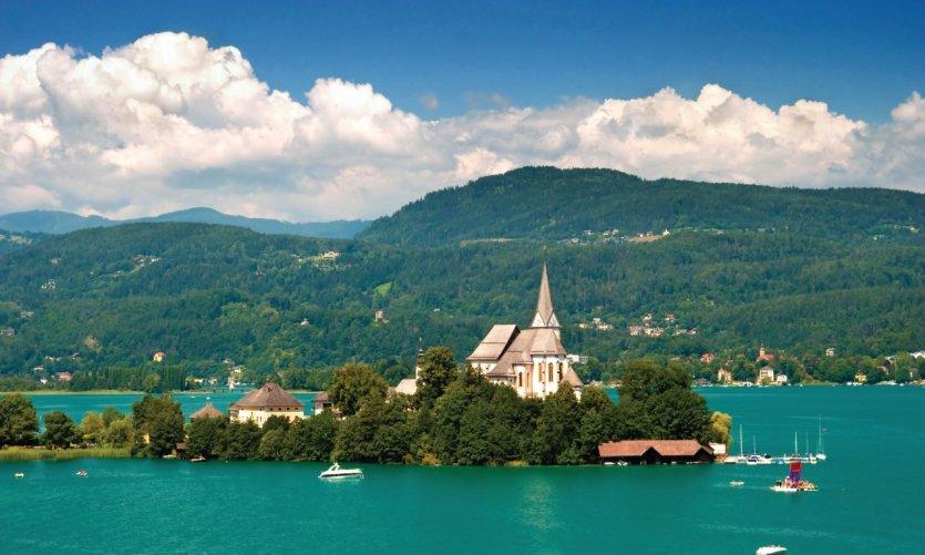 Village de Maria Wörth.