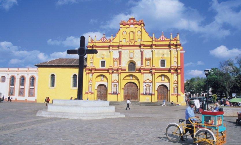 Cathédrale de San Cristóbal de Las Casas.