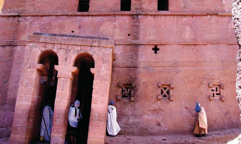 Beta Mariam (l'église de Marie) à Lalibela.