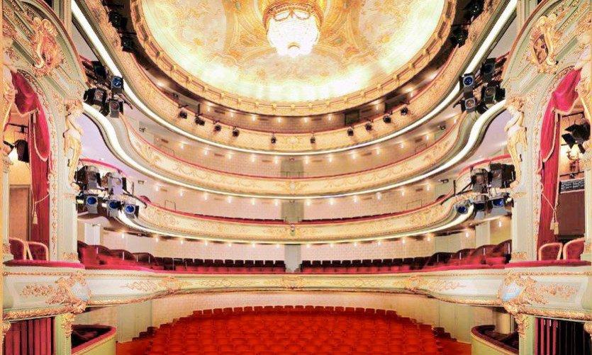 L'intérieur du Théâtre Royal du Parc.
