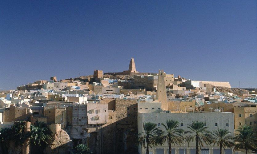 <p>Casco antiguo mozabita, oasis de Ghardaïa</p>