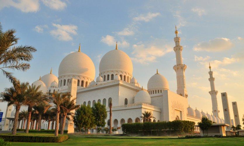 Mosquée Cheikh Zayed d'Abu Dhabi.