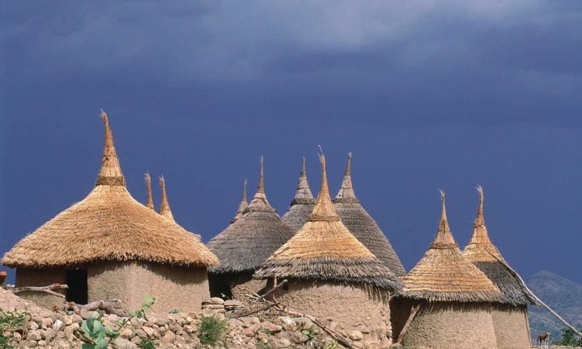 Village dans les monts Mandara.