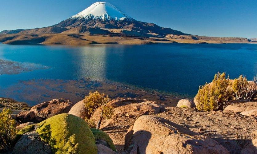 <p>Lago Chungara.</p>