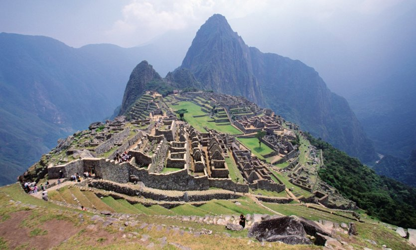 The lost city of Machu Picchu.