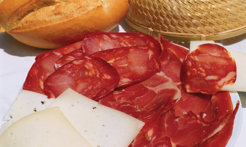Salaison (jambon, chorizo et fromage).