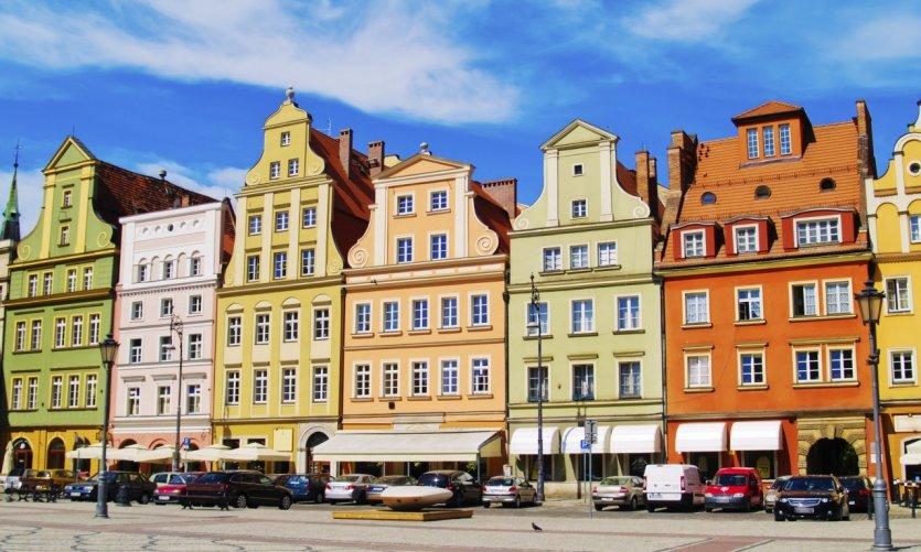 <p>Place du marché de la vieille ville de Varsovie.</p>