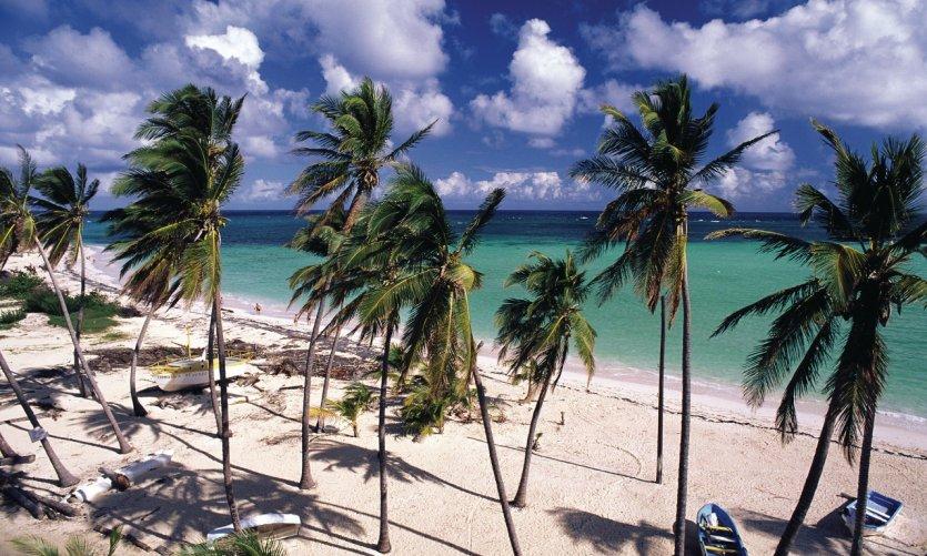 Plage de la Martinique.