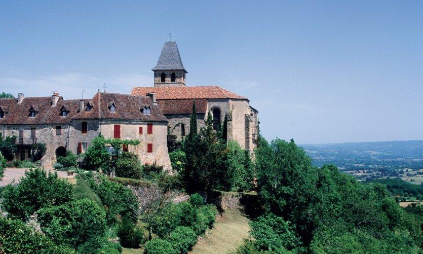 L'église de Loubressac