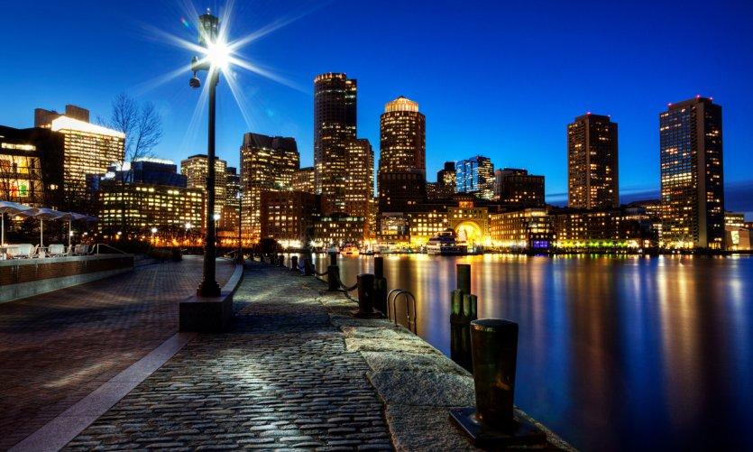 Boston de nuit.