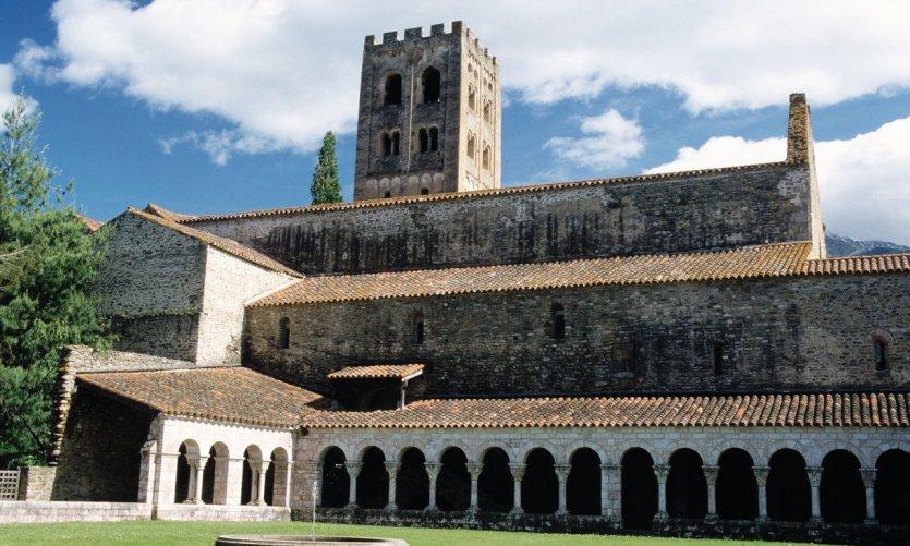 Cloître de l'abbaye Saint-Michel-de-Cuixa