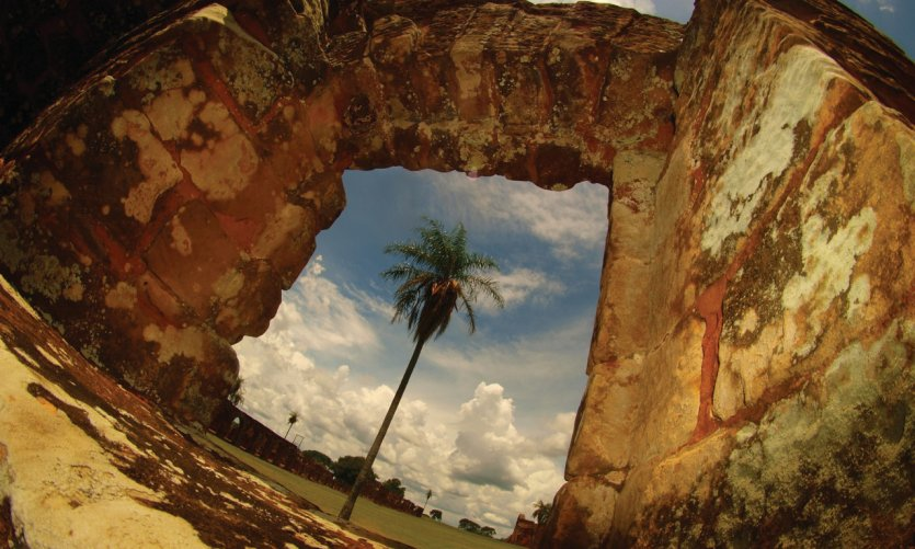 Ruins I suites from Trinidad.