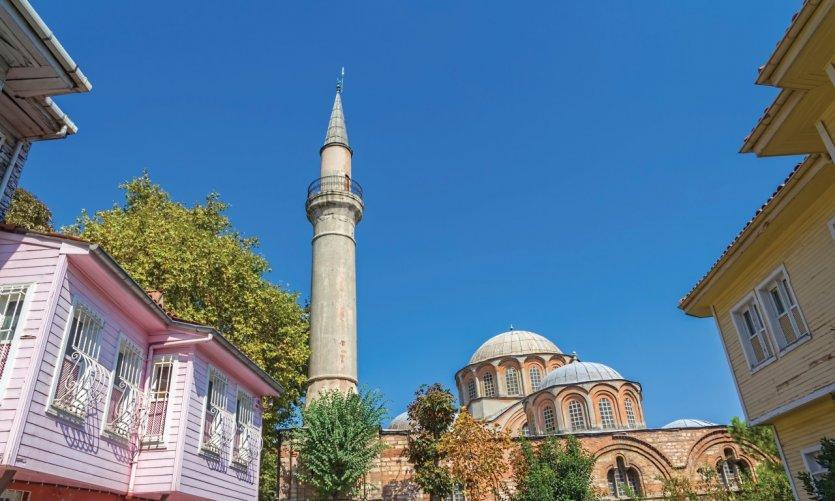 L'église Saint-Sauveur-In-Chora recèle certaines des plus belles mosaïques et fresques byzantines qui soient.