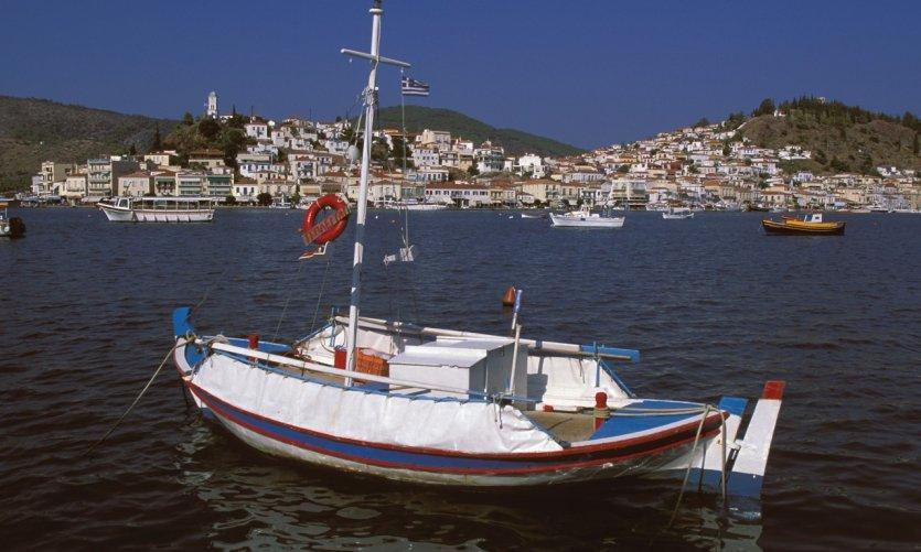 Île de Poros.