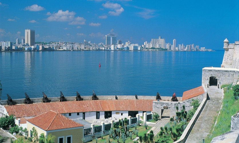 <p>La ville nouvelle depuis le Castillo de los Tres Reyes del Morro.</p>