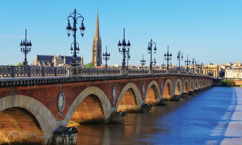 Le pont de pierre, Bordeaux.