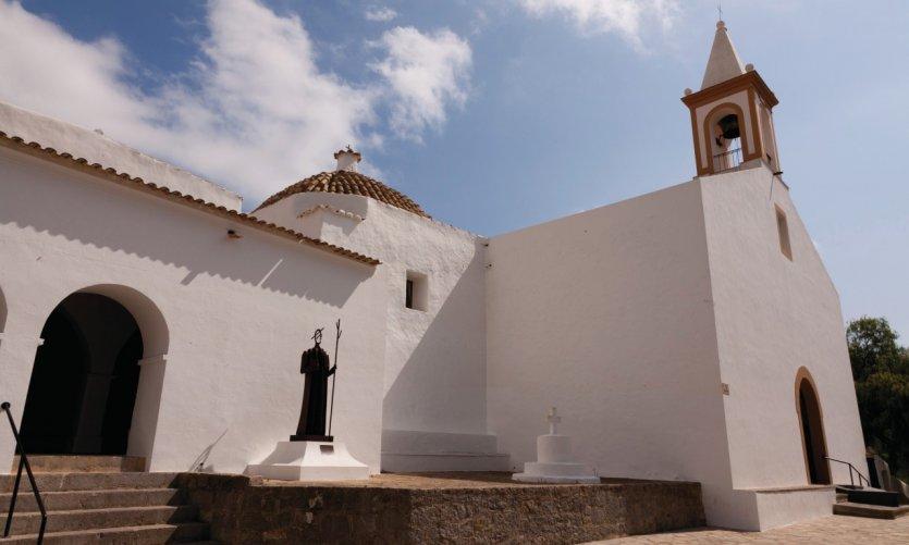 <p>Church of San Juan de Labritja.</p>