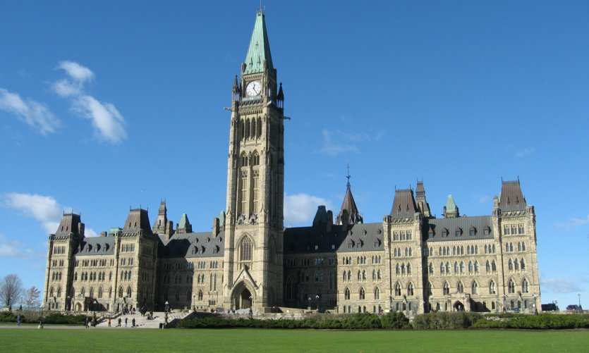 Édifice du Centre du Parlement du Canada.